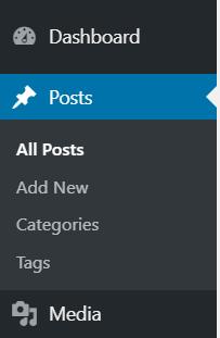 WordPress Posts Option