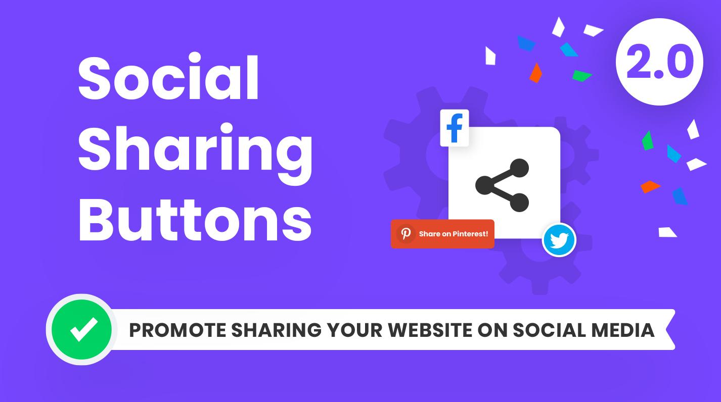 Divi Social Sharing Buttons